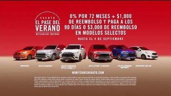 Mitsubishi Evento el Pase del Verano TV Spot, 'Sin pagos' [Spanish] [T2] - Thumbnail 8