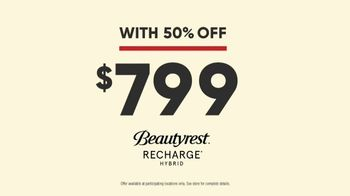 Mattress Firm Power Buy Sale TV Spot, 'Beautyrest Recharge Hybrid' - Thumbnail 8