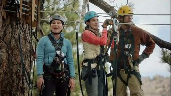 Navy Federal Credit Union App TV Spot, 'Zip Line: Free Checking' - Thumbnail 5