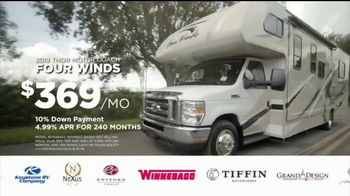 Lazydays RV Birthday Blowout TV Spot, 'Thor Four Winds'