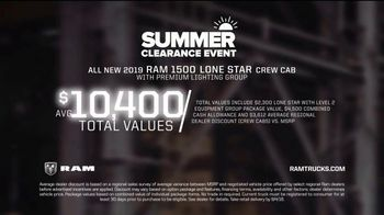 Ram Trucks Summer Clearance Event TV Spot, 'Reputation' [T2] - Thumbnail 8