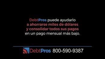 DebtPros TV Spot, 'Reduce su deuda' [Spanish]
