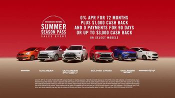 Mitsubishi Summer Season Pass Sales Event TV Spot, 'Take Back Summer' [T2]