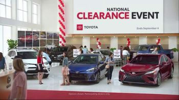 Toyota National Clearance Event TV Spot, 'Outtakes' - Thumbnail 1