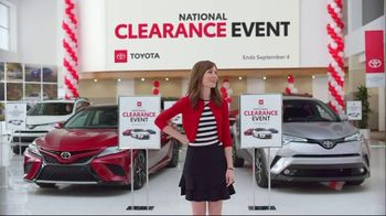 Toyota National Clearance Event TV Spot, 'Outtakes' - Thumbnail 7