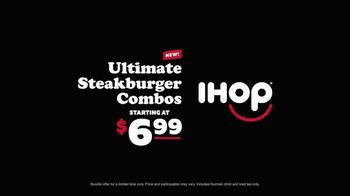 IHOP Ultimate Steakburger Combos TV Spot, 'Burgerers Burgering Burgers' - Thumbnail 7