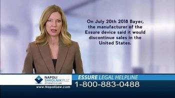 Napoli Shkolnik PLLC TV Spot, 'Essure Side Effects' - Thumbnail 3
