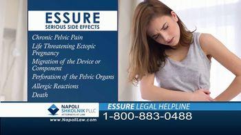 Napoli Shkolnik PLLC TV Spot, 'Essure Side Effects' - Thumbnail 7
