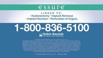 Robin Raynish Law TV Spot, 'Essure' - Thumbnail 10