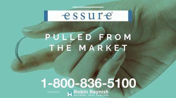 Robin Raynish Law TV Spot, 'Essure' - Thumbnail 4