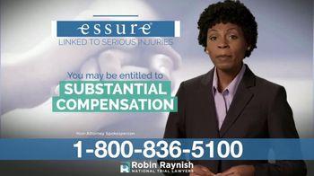 Robin Raynish Law TV Spot, 'Essure'