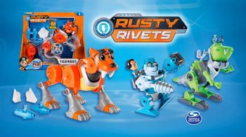 Rusty Rivets Tiger Bot TV Spot, 'Save the Day' - Thumbnail 10