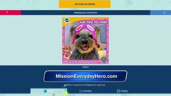 Pedigree and Nickelodeon Mission: Everyday Hero TV Spot, 'Above and Beyond' - Thumbnail 10