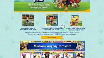 Pedigree and Nickelodeon Mission: Everyday Hero TV Spot, 'Above and Beyond' - Thumbnail 8