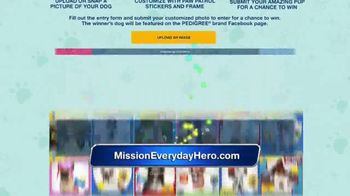 Pedigree and Nickelodeon Mission: Everyday Hero TV Spot, 'Above and Beyond' - Thumbnail 9