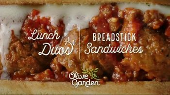 Olive Garden Lunch Duos TV Spot, 'Meatballs' - Thumbnail 9