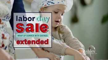 Ashley HomeStore Labor Day Sale TV Spot, 'Extended: One Final Week' - Thumbnail 3