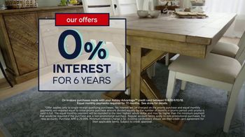 Ashley HomeStore Labor Day Sale TV Spot, 'Extended: One Final Week' - Thumbnail 5