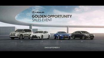 Lexus Golden Opportunity Sales Event TV Spot, 'Higher Standard' [T1] - Thumbnail 7