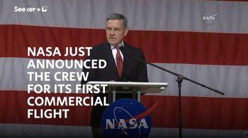 Seeker TV Spot, 'First NASA Commercial Flight'