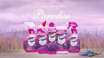 Clorox Scentiva Bathroom Foam Cleaner TV Spot, 'Lavender Fields' - Thumbnail 8