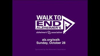 Alzheimer's Association TV Spot, '2018 Walk to End Alzheimer's' - Thumbnail 10