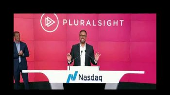 NASDAQ TV Spot, 'Pluralsight'