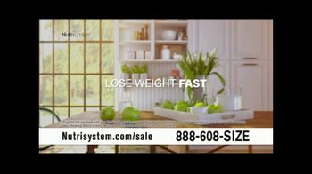 Nutrisystem Back to School Sale TV Spot, 'Save on First Two Weeks'