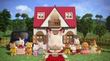 Calico Critters Red Roof Cozy Cottage Starter Home TV Spot, 'Disney Channel: Home' - Thumbnail 6