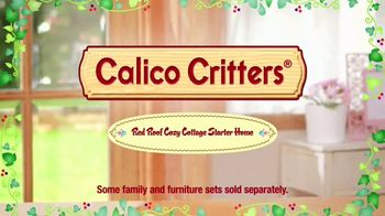 Calico Critters Red Roof Cozy Cottage Starter Home TV Spot, 'Disney Channel: Home' - Thumbnail 9