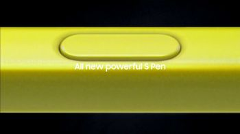Samsung Galaxy Note9 TV Spot, 'Powerful S Pen: Pre-Order' Song by LSD - Thumbnail 4