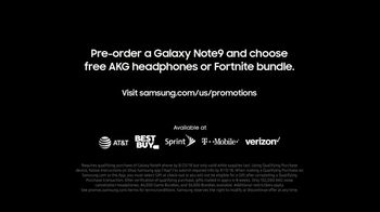 Samsung Galaxy Note9 TV Spot, 'Powerful S Pen: Pre-Order' Song by LSD - Thumbnail 9