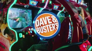 Dave and Buster's Super Power Card TV Spot, 'Play All Day' - Thumbnail 1