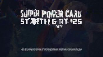 Dave and Buster's Super Power Card TV Spot, 'Play All Day' - Thumbnail 6