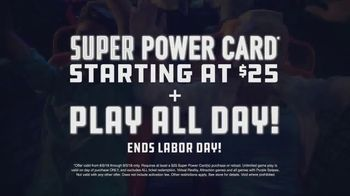 Dave and Buster's Super Power Card TV Spot, 'Play All Day' - Thumbnail 7