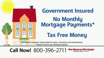 One Reverse Mortgage TV Spot, 'Government Insured' - Thumbnail 5