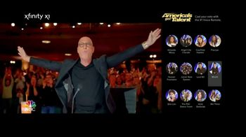 XFINITY X1 Voice Remote TV Spot, 'NBC: Vote for AGT' Feat. Howie Mandel - Thumbnail 10
