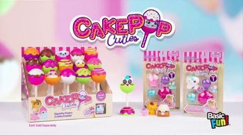 CakePop Cuties TV Spot, 'Pop, Squish, Play & Display' - Thumbnail 10