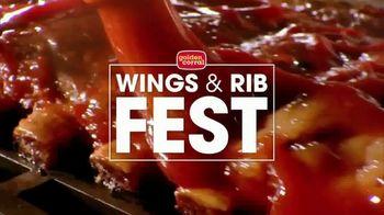 Golden Corral Wings & Rib Fest TV Spot, 'Just Like You Like Them'
