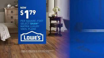 Lowe's TV Spot, 'The Moment: Latest Floor Styles' - Thumbnail 10