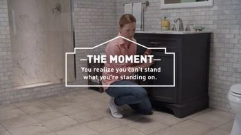 Lowe's TV Spot, 'The Moment: Latest Floor Styles' - Thumbnail 4
