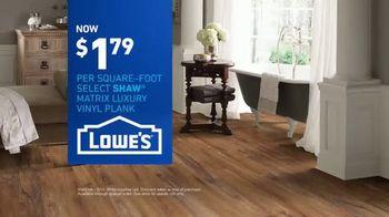 Lowe's TV Spot, 'The Moment: Latest Floor Styles' - Thumbnail 9