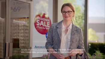 America's Best Contacts and Eyeglasses Designer Sale TV Spot, 'Runway'