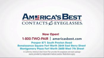 America's Best Contacts and Eyeglasses Designer Sale TV Spot, 'Runway' - Thumbnail 9
