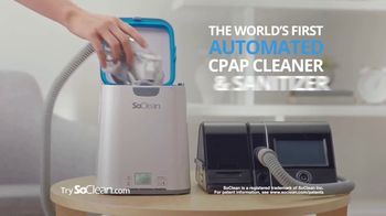 SoClean TV Spot, 'Getting Sick From a Dirty CPAP' - Thumbnail 2