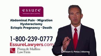 Pintas & Mullins Law Firm TV Spot, 'Essure Urgent Warning' - Thumbnail 3