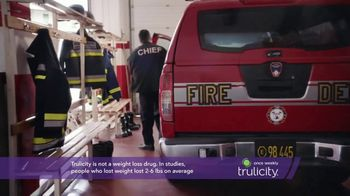 Trulicity TV Spot, 'Do More: Firefighter' - Thumbnail 4