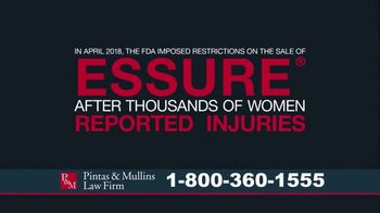 Pintas & Mullins Law Firm TV Spot, 'Essure Birth Control'