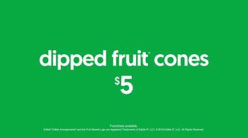 Edible Arrangements Dipped Fruit Cones TV Spot, 'Sweet-ible' - Thumbnail 10