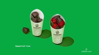 Edible Arrangements Dipped Fruit Cones TV Spot, 'Sweet-ible' - Thumbnail 7